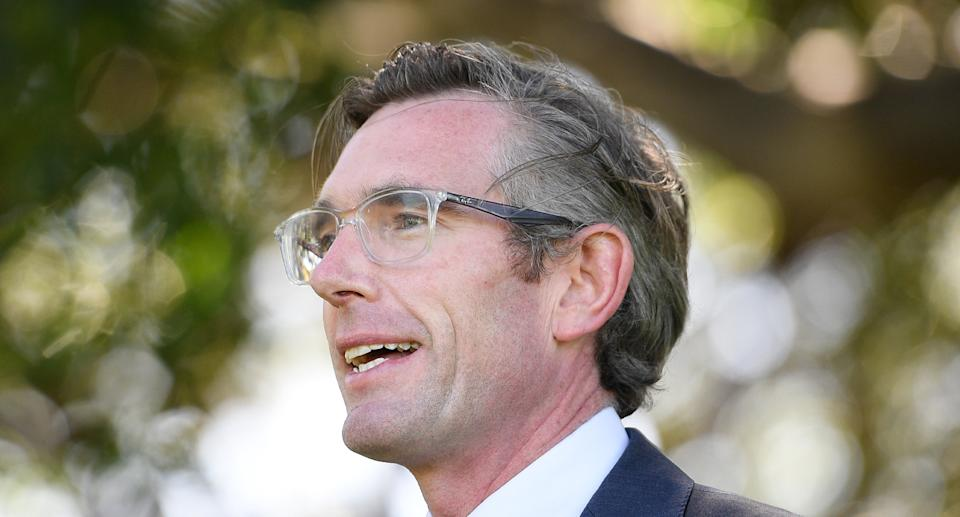 NSW Premier Dominic Perrottet will guide the state through its reopening from Monday. Source: AAP