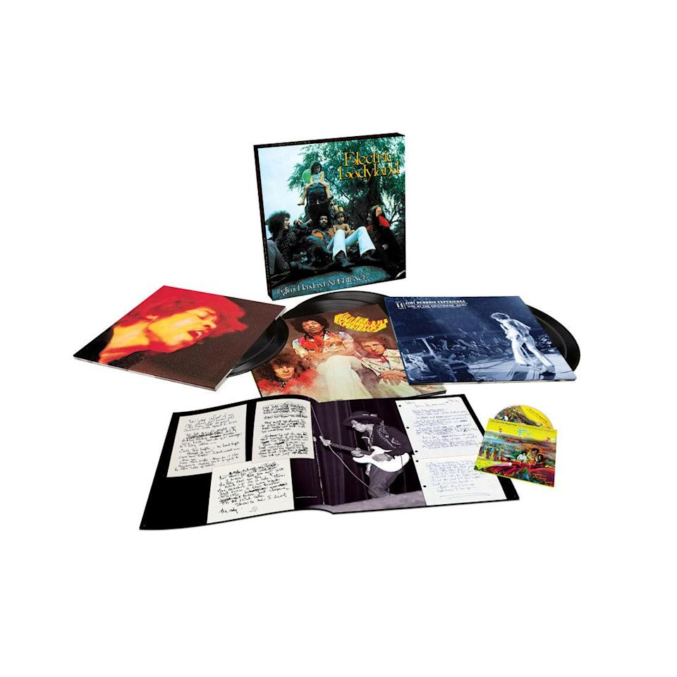 <p>1968 was a really great year! Here's another ambitious golden-anniversary '68 retrospective, featuring a 5.1 surround sound mix, previously unreleased private demos, alternate takes, an unheard live album recorded at the Hollywood Bowl in September '68, and the album remastered in its original form by legendary engineer Eddie Kramer. </p>