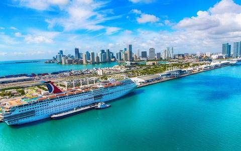 Miami is well-equipped to cope with its cruise popularity - Credit: istock