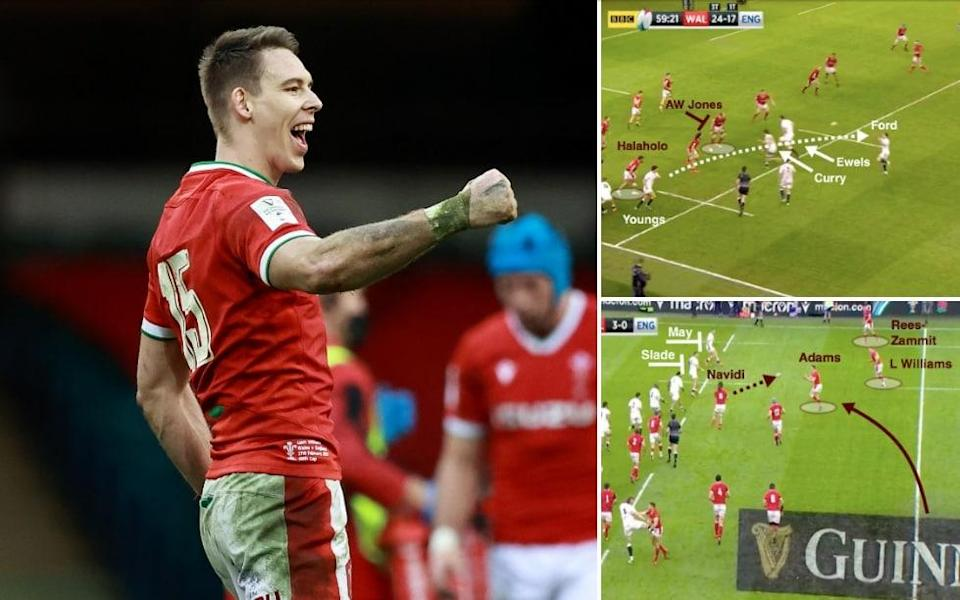 Liam Williams -Graft, opportunism and targeting Elliot Daly: How Wales made their own luck to beat England - Getty Images