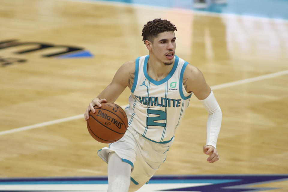 Charlotte Hornets guard LaMelo Ball
