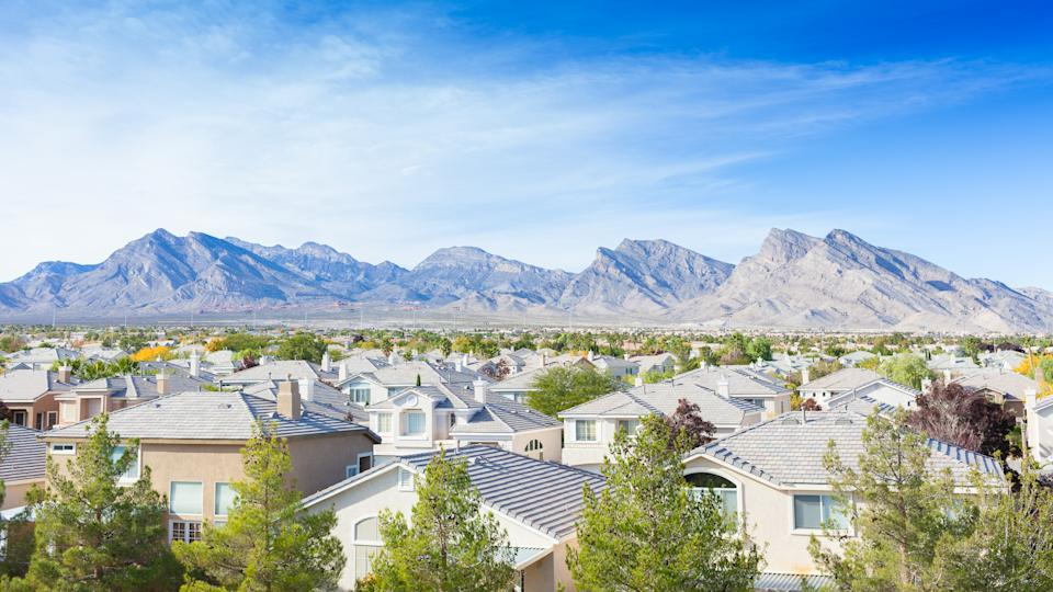 view of Nevada homes