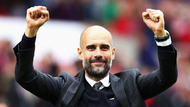 ​Manchester City's Pep Guardiola has been named the best manager in the world, after seeing off competition from Chelsea's Antonio Conte and Atletico Madrid's Diego Simeone. That is according to ​L'Equipe, whose ranking of Europe's current hottest bosses is sure to ignite fierce debates across the globe about where each football gaffer has been positioned by the French newspaper. Guardiola, who has failed mount a title challenge in his first season in England's top flight, has perhaps...