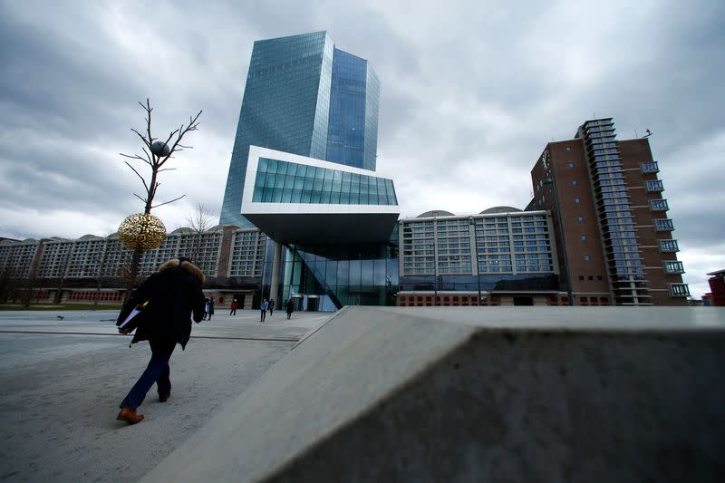 Already pumping cash at a record pace, ECB holds off on big moves for now