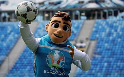 Skillzy, the official mascot for Euro 2020 soccer tournament - Credit: Reuters
