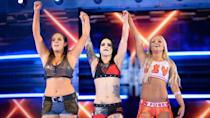 <p>Unlike many on this list, Sarah Logan didn't exactly take the WWE by storm during her run there.</p><p>Nevertheless it was a shock when she was released in mid 2020 during some brutal cost-cutting when the pandemic began to take hold.</p><p>As the Riott Squad, Logan, Liv Morgan and Ruby Riott made a fantastic first impression, only for that goodwill to be frittered away by bad defeats and even worse breakups.</p><p>But we still felt a proper reunion would surely happen some day. Unfortunately, after her release Logan announced that she would be retiring from wrestling aged just 26.</p><p>That young age means that there's no reason why things might not change in the near future. And if she teamed back up with Ruby and Liv a little older and a little more streetwise, the trio could finally make good on all that initial promise and kickstart the next phase of the WWE women's revolution.</p>