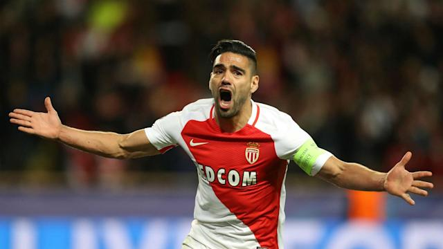 Radamel Falcao Monaco Dortmund Champions League 18042017