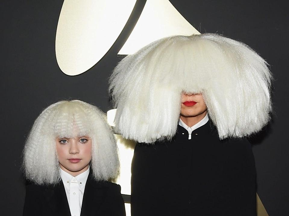 Sia and Ziegler have done frequent collaborations over the past six yearsGetty