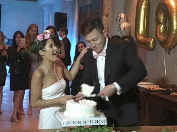 The couple tied the knot last weekend. Photo: Instagram