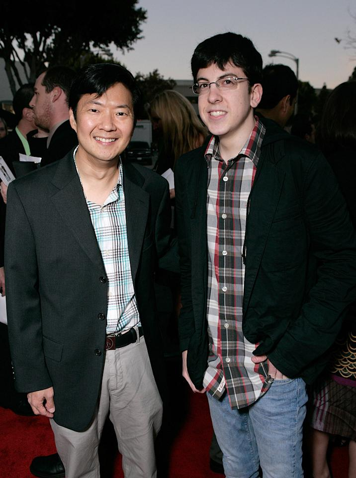 "<a href=""http://movies.yahoo.com/movie/contributor/1809737459"">Ken Jeong</a> and <a href=""http://movies.yahoo.com/movie/contributor/1809856246"">Christopher Mintz-Plasse</a> at the Los Angeles premiere of <a href=""http://movies.yahoo.com/movie/1810022085/info"">I Love You, Man</a> - 03/17/2009"