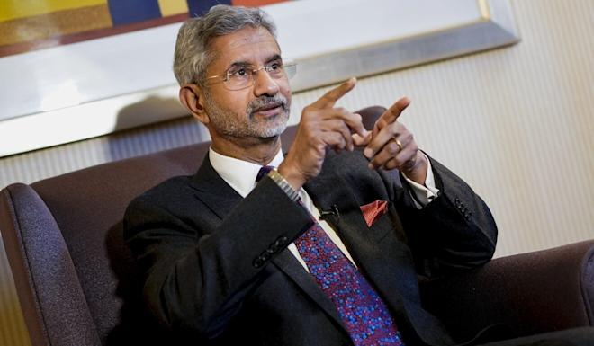 "Indian Minister of External Affairs Subrahmanyam Jaishankar said ""peace and tranquillity [on the border] is the basis for the relationship"". Photo: AFP"