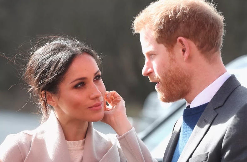 Harry and Meghan behind the scenes