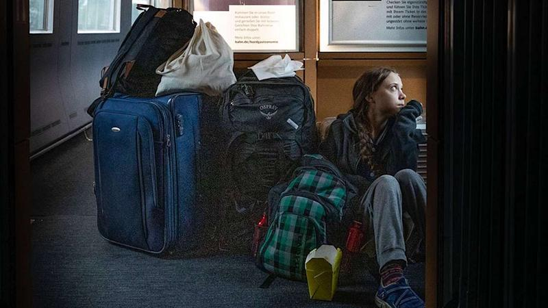 Greta Thunberg travels home for Christmas in a 'crowded' train, German railway responds