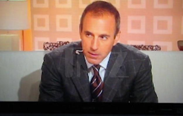 The video published on TMZ, shows Lauer making the comment to fellow presenter Meredith Vieira in 2006, during a commercial break. Source: TMZ