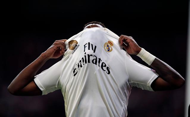 Vinicius Junior and Real Madrid will want to forget Tuesday's loss to Ajax as much as possible. (AP)