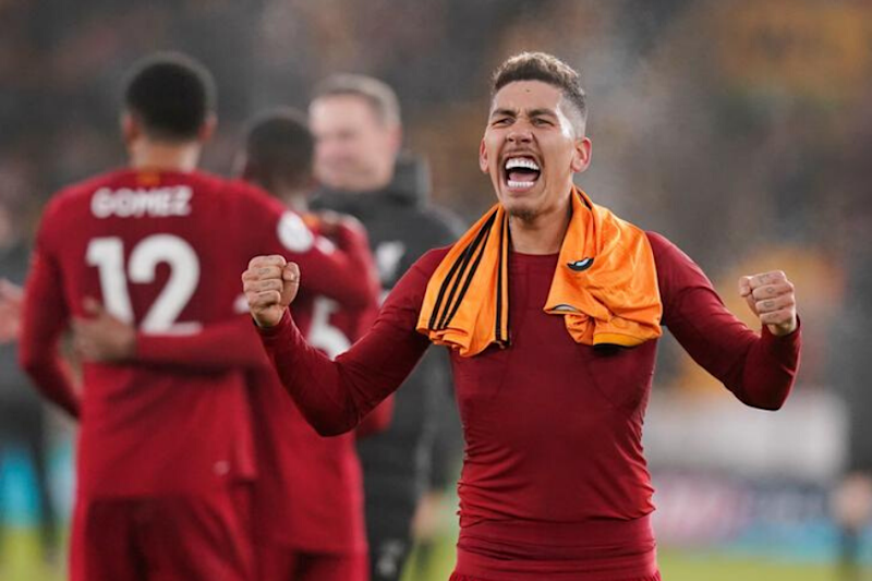 Premier League: Roberto Firmino 'Worldie' Secures Another Late Liverpool Win at Wolves