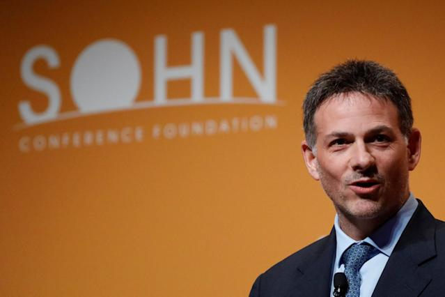 <p>No. 11: Cornell University<br>Known UHNW alumni: 319<br>Combined wealth: $101 billion<br>Former grad and president of Greenlight Capital David Einhorn is seen here.<br>(REUTERS/Brendan McDermid) </p>