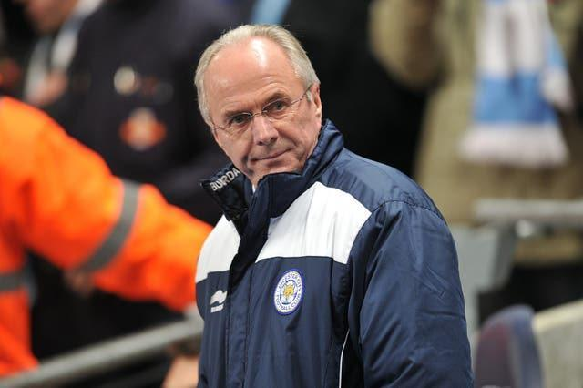 Eriksson's most recent job in England saw him manage Leicester between 2010 and 2011.