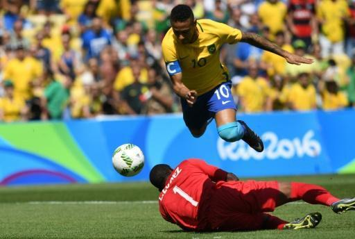 Neymar scores in 15 seconds and Brazil go 3-0 up in Rio semi