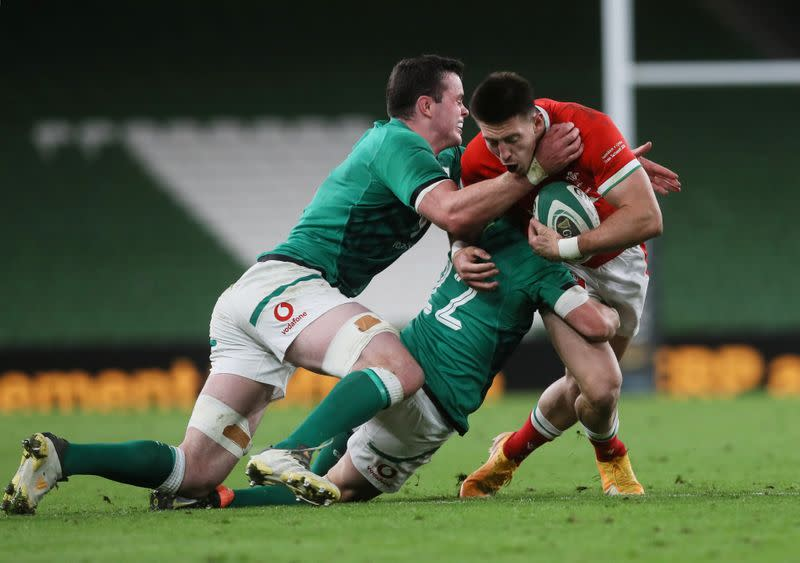 FILE PHOTO: Autumn Nations Cup - Ireland v Wales