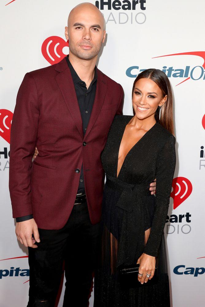 Mike Caussin and Jana Kramer | Joe Scarnici/Getty
