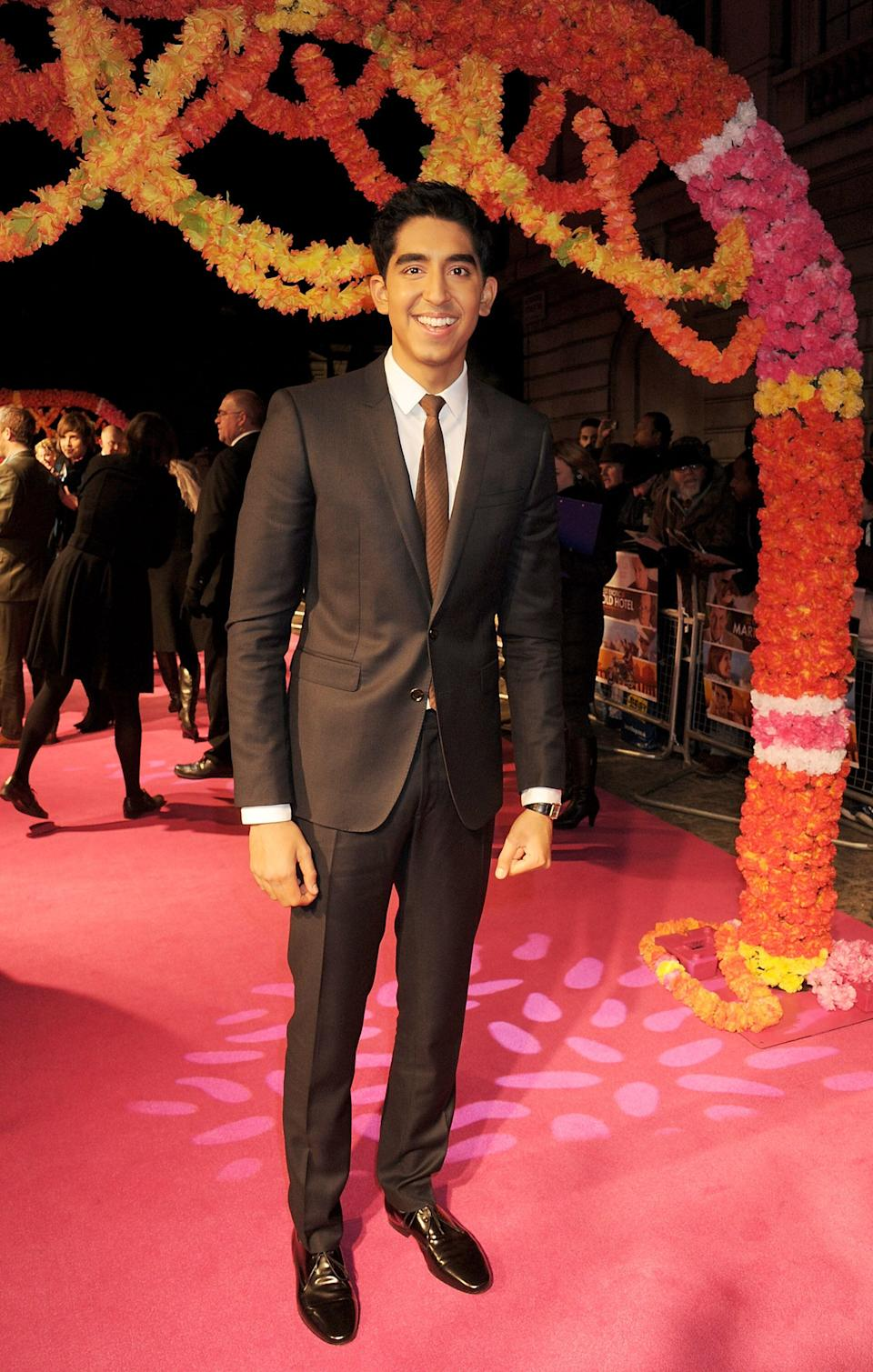 """Patel at the world premiere of """"The Best Exotic Marigold Hotel"""" on Feb. 7, 2012, in London."""