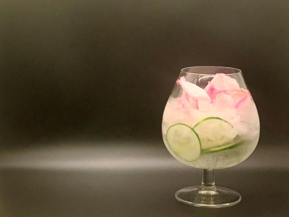 <p>This whimsical spin on a classic cocktail pays homage to the colors and aromas of the Atlanta Botanical Gardens and Piedmont Park, just steps away from Loews Atlanta Hotel, where this drink was created.</p><p><strong>Ingredients:</strong></p><p>1 1/2 ounces Hendrick's Gin</p><p>Q Bottled Tonic (or other tonic water)</p><p>rose petals, juniper berries, cucumber ribbons, for garnish</p><p><strong>Directions:</strong></p><ol><li>Fill a snifter with crushed ice. </li><li>Pour gin into glass and top with tonic.</li><li> Place garnish inside and on top of the cocktail to your liking using cocktail tweezers. </li></ol>