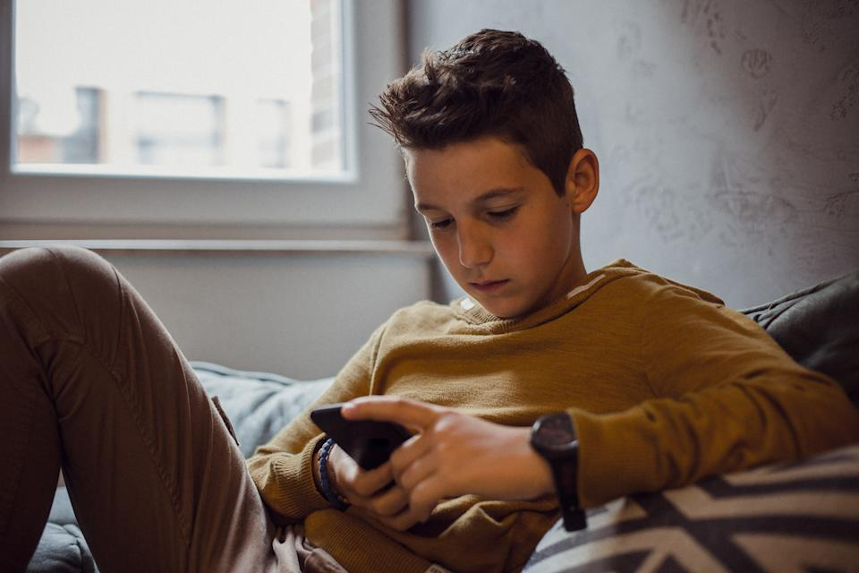 Young adults between the ages of 14 and 17 made up the bulk of those who reached out for help through the Crisis Text Line in June, new data shows. (Photo: Getty)