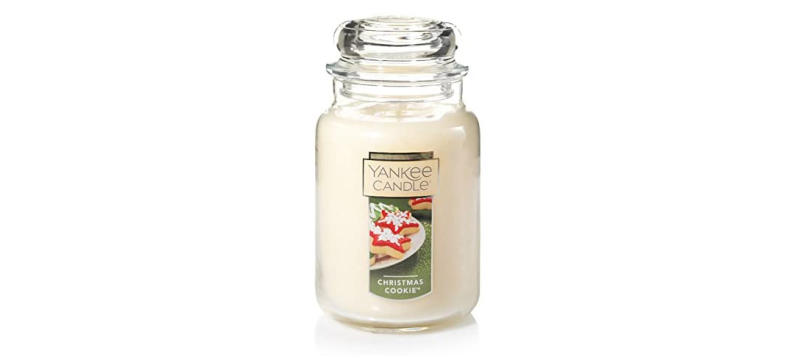 Yankee Candle Large Jar Candle in Christmas Cookie (Photo: Amazon)