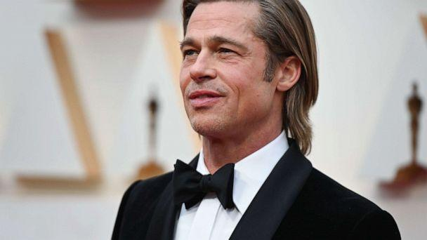 PHOTO: Brad Pitt arrives at the Oscars in Hollywood, Calif., Feb. 9, 2020. (Robyn Beck/AFP/Getty Images)