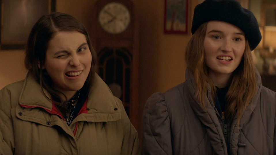 Beanie Feldstein and Kaitlyn Dever in Booksmart (credit: United Artists Releasing)
