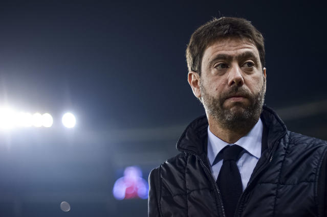 Juventus chairman Andrea Agnelli has made no secret what he thinks of the less-monied clubs in European soccer. (Photo by Nicolò Campo/LightRocket via Getty Images)
