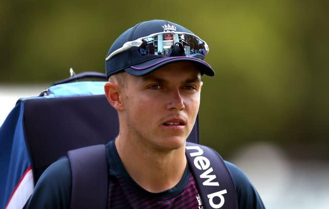Sam Curran is in contention for the second Test (Steven Paston/PA)