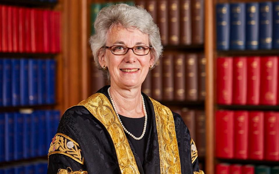 Lady Black of Derwent will step down in the new year - UK Supreme Court/Kevin Leighto