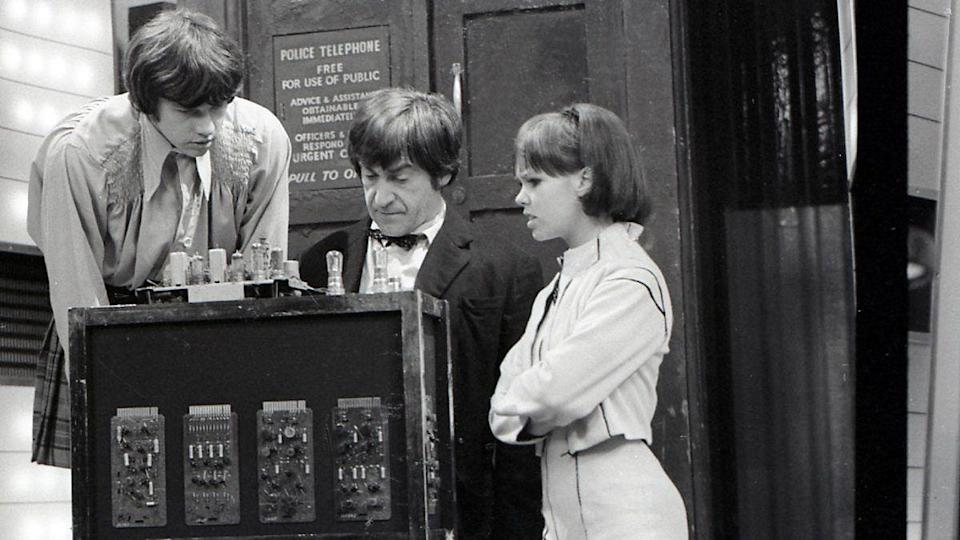 """<p>Pirates in SPAAA-AAAACE! The final missing story is Patrick Troughton's penultimate outing as the second Doctor. Only ep 2 of this six-parter survives and is on the <em><a href=""""https://www.amazon.co.uk/Doctor-Who-Lost-Time-DVD/dp/B0002XOZW4/"""" rel=""""nofollow noopener"""" target=""""_blank"""" data-ylk=""""slk:Lost in Time"""" class=""""link rapid-noclick-resp"""">Lost in Time</a></em> set, which also includes a few surviving clips from episode 1. </p><p>Plus – you guessed it – the soundtrack is available on CD and download.</p>"""