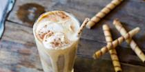 """<p>Don't get it twisted: October is definitely not too cold a month to enjoy an ice cream float. And this pumpkin spice version has all your favorite flavors of the season. </p><p><strong><em>Get the recipe at <a href=""""https://www.thepioneerwoman.com/food-cooking/meals-menus/a80062/pumpkin-ice-cream-floats-2-ways/"""" rel=""""nofollow noopener"""" target=""""_blank"""" data-ylk=""""slk:The Pioneer Woman"""" class=""""link rapid-noclick-resp"""">The Pioneer Woman</a>. </em></strong></p>"""