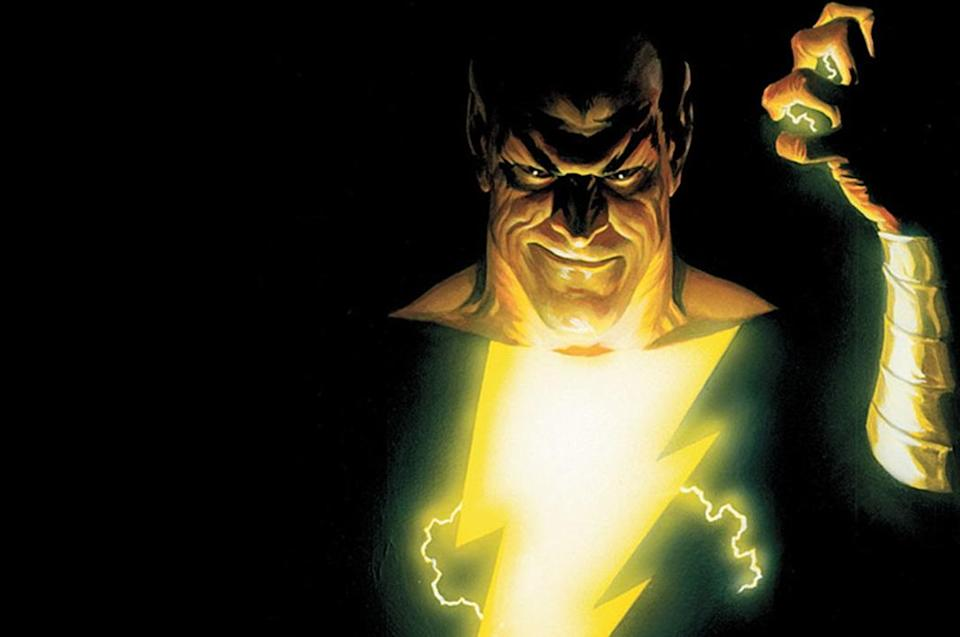 <p>One of the most curious developing projects from the DC Extended Universe, Johnson's casting as 'Shazam' anti-hero Black Adam was announced over two years ago, whilst the film has still yet to announce a director or any other cast members. Nonetheless, 'Shazam' is pencilled in for 5 April 2019, whilst it has also been reported Johnson will follow it up with a 'Black Adam' solo movie. (Picture credit: DC Comics/Warner Bros) </p>