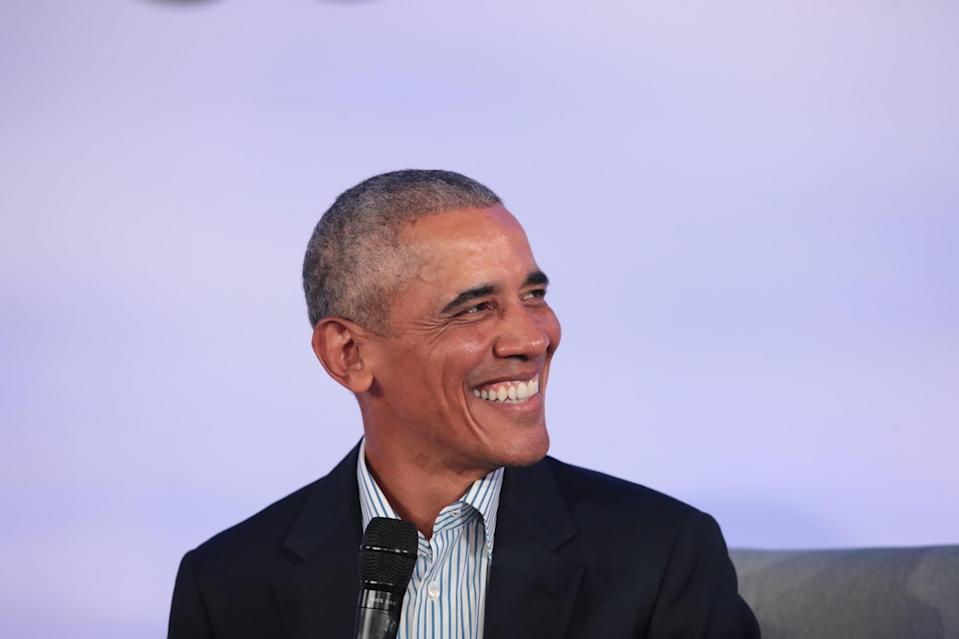 """<ul> <li><strong>Obama believes <a href=""""http://www.cnn.com/2020/11/12/politics/obama-memoir-promised-land/index.html"""" class=""""link rapid-noclick-resp"""" rel=""""nofollow noopener"""" target=""""_blank"""" data-ylk=""""slk:his presidency played a role in Donald Trump's rise"""">his presidency played a role in Donald Trump's rise</a> and the dark transformation of the Republican party. </strong>""""It was as if my very presence in the White House had triggered a deep-seated panic, a sense that the natural order had been disrupted,"""" he wrote. """"Which is exactly what <a class=""""link rapid-noclick-resp"""" href=""""https://www.popsugar.com/Donald-Trump"""" rel=""""nofollow noopener"""" target=""""_blank"""" data-ylk=""""slk:Donald Trump"""">Donald Trump</a> understood when he started <a href=""""https://www.cnn.com/2016/09/09/politics/donald-trump-birther/index.html"""" class=""""link rapid-noclick-resp"""" rel=""""nofollow noopener"""" target=""""_blank"""" data-ylk=""""slk:peddling assertions"""">peddling assertions</a> that I had not been born in the United States and was thus an illegitimate president. For millions of Americans spooked by a Black man in the White House, he promised an elixir for their racial anxiety.""""</li> <li><strong>Similarly, he says the ideological </strong><strong>shift in the Republican party can be traced back to when John McCain chose Sarah Palin as his running mate during the 2008 campaign. </strong>""""Through Palin, it seemed as if the dark spirits that had long been lurking on the edges of the modern Republican Party - xenophobia, anti intellectualism, paranoid conspiracy theories, an antipathy toward Black and brown folks - were finding their way to center stage.""""</li> </ul>"""
