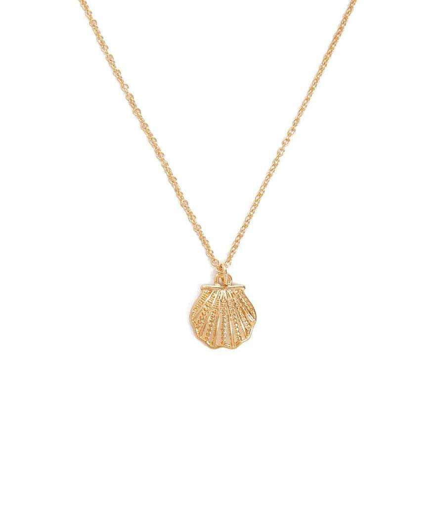 Forever 21 Shell Pendant Necklace (Photo: Forever 21)