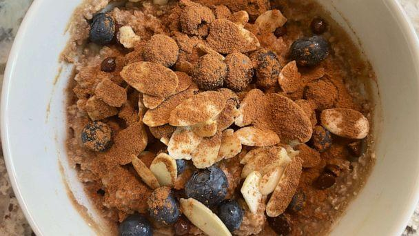 PHOTO: Quick oats by restaurateur and fitness personality Michael Chernow. (ABC News)