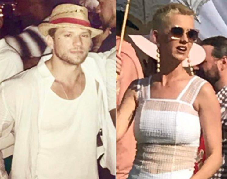 Ryan Phillippe and Katy Perry at Coachella