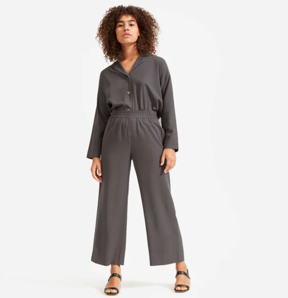 "<br> <br> <strong>Everlane</strong> The Washable Silk Pajama Set, $, available at <a href=""https://go.skimresources.com/?id=30283X879131&url=https%3A%2F%2Fwww.everlane.com%2Fproducts%2Fwomens-washable-silk-pajama-set-pewter"" rel=""nofollow noopener"" target=""_blank"" data-ylk=""slk:Everlane"" class=""link rapid-noclick-resp"">Everlane</a>"
