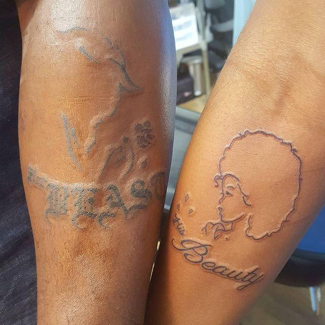 """<p>Don't you love this creative take on <em>Beauty and the Beast</em>? Like, that's a damn good couples tattoo if I've ever seen one.</p><p><a href=""""https://www.instagram.com/p/BYejZtBHAi4/?utm_source=ig_embed&utm_campaign=loading"""" rel=""""nofollow noopener"""" target=""""_blank"""" data-ylk=""""slk:See the original post on Instagram"""" class=""""link rapid-noclick-resp"""">See the original post on Instagram</a></p>"""