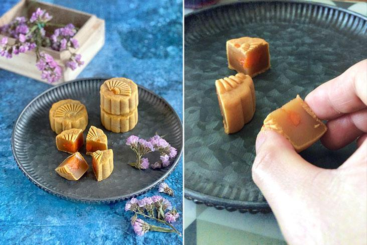 Mooncakes are meant to be shared, even if we aren't together in the same place.
