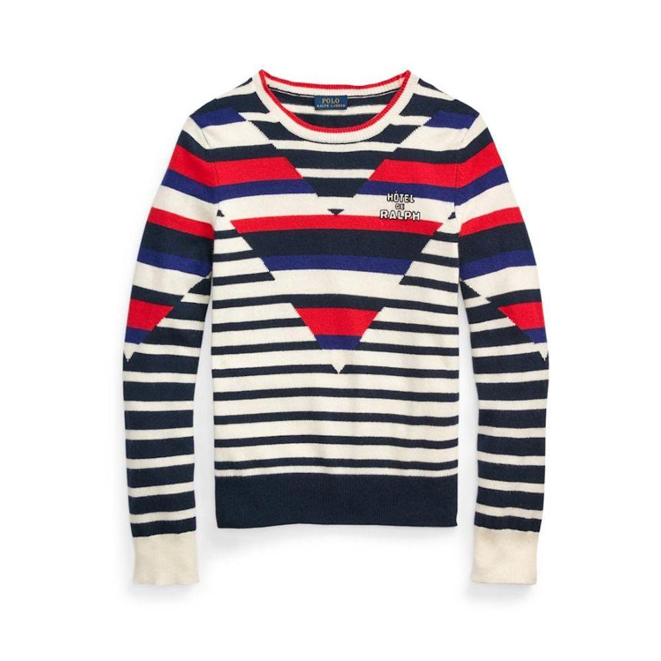 """<p><strong>POLO RALPH LAUREN</strong></p><p>nordstrom.com</p><p><a href=""""https://go.redirectingat.com?id=74968X1596630&url=https%3A%2F%2Fwww.nordstrom.com%2Fs%2Fpolo-ralph-lauren-optic-stripe-cashmere-sweater%2F5833989&sref=https%3A%2F%2Fwww.elle.com%2Ffashion%2Fshopping%2Fg36462948%2Fnordstrom-half-yearly-sale-2021%2F"""" rel=""""nofollow noopener"""" target=""""_blank"""" data-ylk=""""slk:Shop Now"""" class=""""link rapid-noclick-resp"""">Shop Now</a></p><p><strong><del>$398</del> $239 (40% off)</strong></p>"""