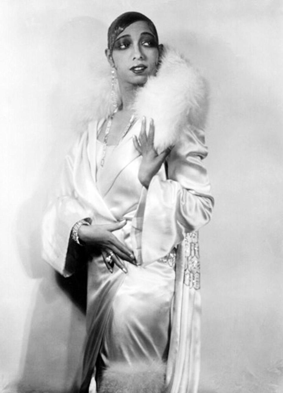 """<p>Not long after Baker ran away from home, she met her first husband, Willie Wells, who was an automated pullman. Baker married him when she was 13, but the two were <a href=""""https://www.biography.com/performer/josephine-baker"""" rel=""""nofollow noopener"""" target=""""_blank"""" data-ylk=""""slk:divorced within weeks"""" class=""""link rapid-noclick-resp"""">divorced within weeks</a>.</p>"""