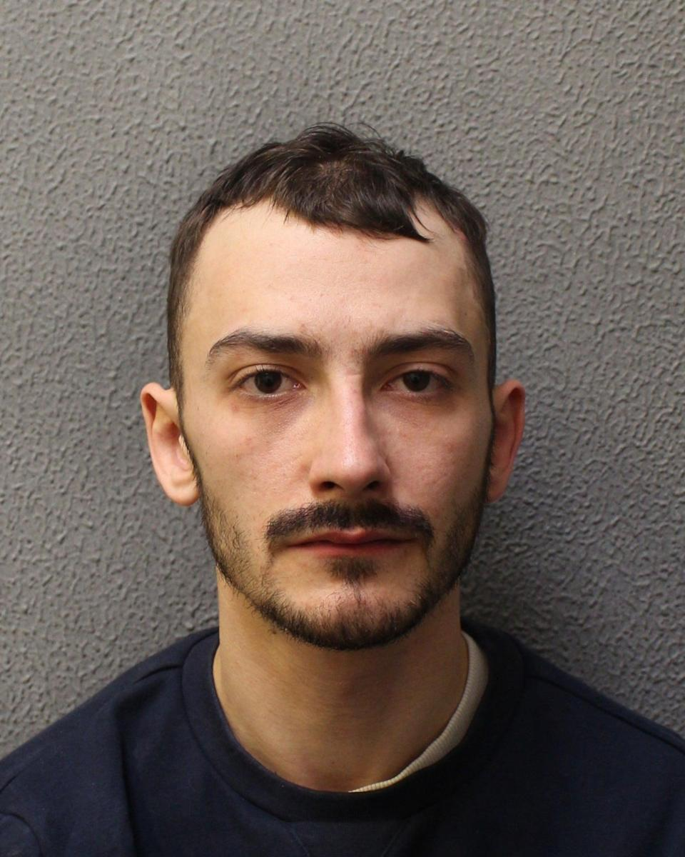 Jordan Northover was sentenced to a total of 18 yearsMet Police
