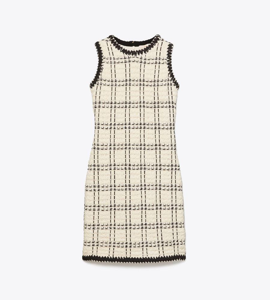 "<p>toryburch.com</p><p><a href=""https://go.redirectingat.com?id=74968X1596630&url=https%3A%2F%2Fwww.toryburch.com%2Fsleeveless-tweed-dress%2F63219.html&sref=https%3A%2F%2Fwww.townandcountrymag.com%2Fstyle%2Ffashion-trends%2Fg34096697%2Ftory-burch-sale-september-2020%2F"" rel=""nofollow noopener"" target=""_blank"" data-ylk=""slk:Shop Now"" class=""link rapid-noclick-resp"">Shop Now</a></p><p>$132.82</p><p><em>Original Price: $598</em></p>"