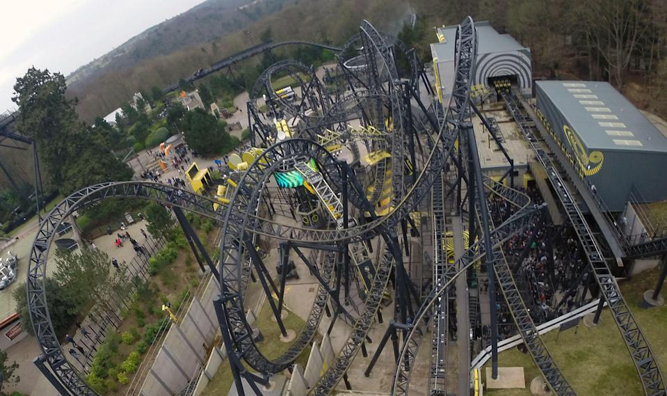 Alton Towers re-opened the Smiler ride in March 2016, nine months after the accident. (PA)