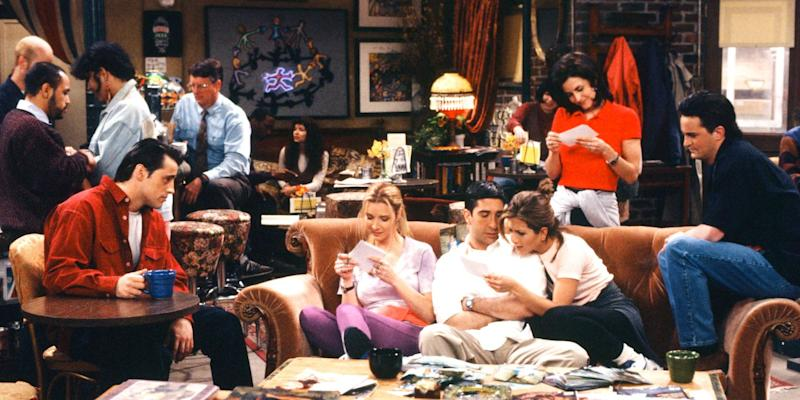 Friends star responds to Central Perk couch fan theory